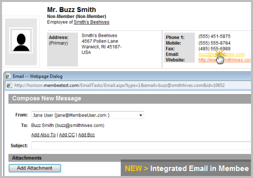 Integrated Email is Here!