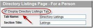 No Directory